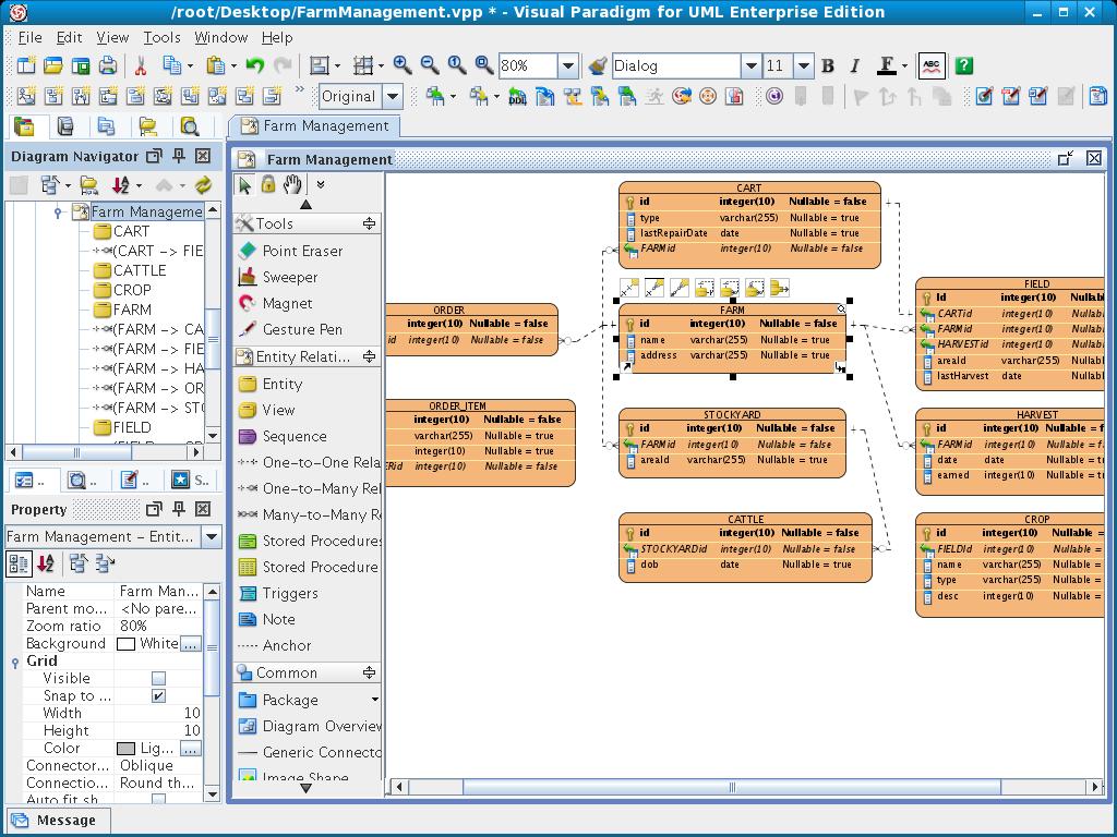 Схема нарисовать linux