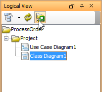 Click Set Logical View Structure as Default button