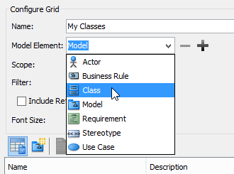 Select Class