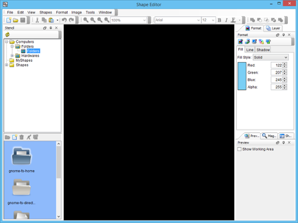 Shape Editor
