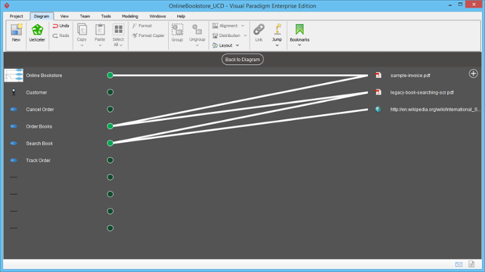 Reference Mapping editor