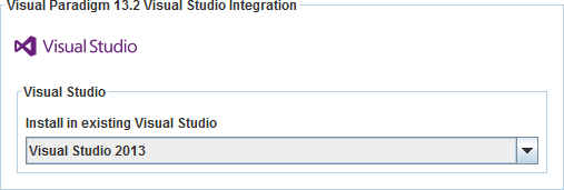 How To Integrate Visual Paradigm With Visual Studio Installation