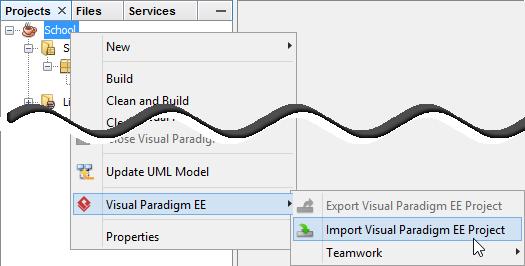 Import Visual Paradigm project