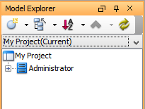 Duplicated element appear in Model Explorer