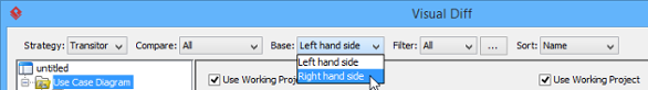 "Changing the base to ""Right hand side"""