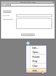 Add a wireframe to a scenario step