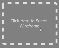 Select a wireframe for step