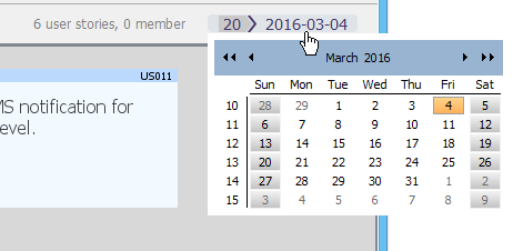 Editing the end date of a sprint