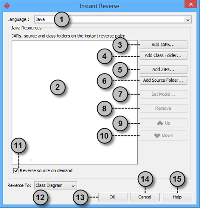 Overview of instant reverse window