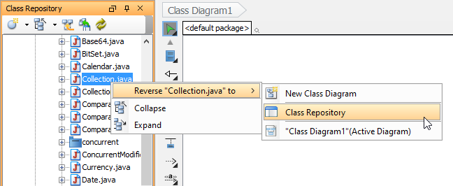 How To Generate Uml From Java Sources And Classes Visual Paradigm