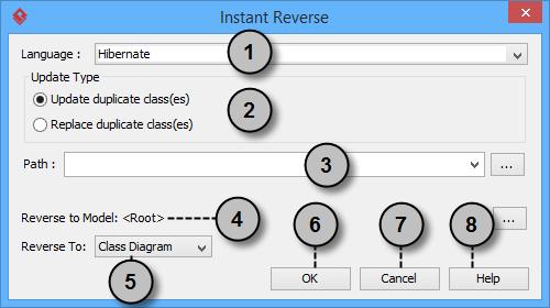 The instant reverse window