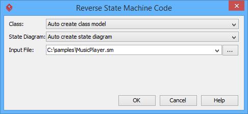 Reverse state machine