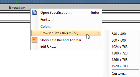 how to change the size of browser window in html