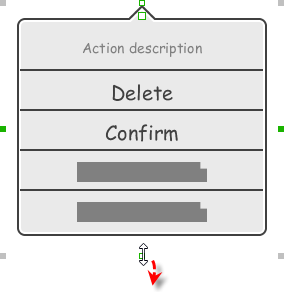 Resizing an action sheet to show more actions