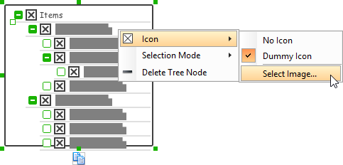 Specifying an icon for tree node