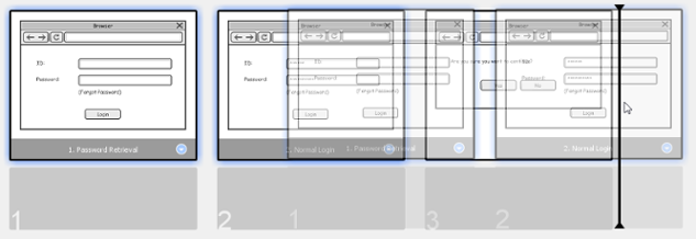 How to Play the Wireframes in a Storyboard?