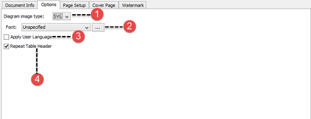 The overview of Page Setup tab