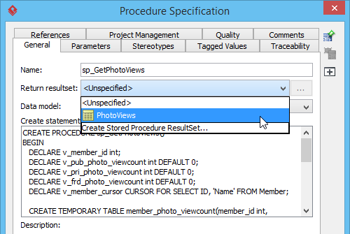 Assigning stored procedure resultset to stored procedure