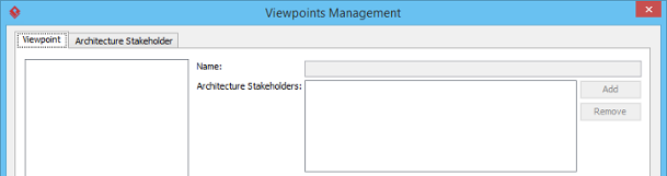 Manage viewpoints