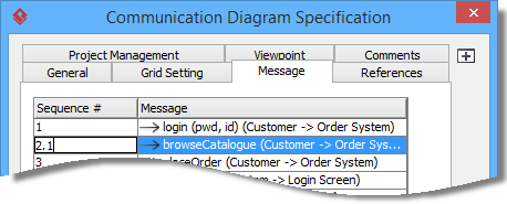 Edit sequence number of messages