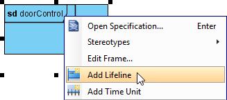 Add lifeline