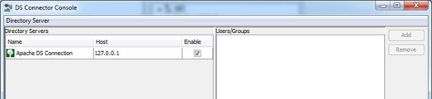 Directory server added