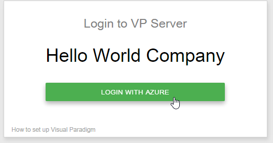 Login with Microsoft Azure