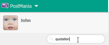 Searching for the word 'quotation'