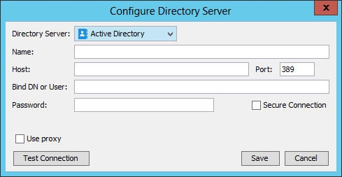 Selecting Active Directory