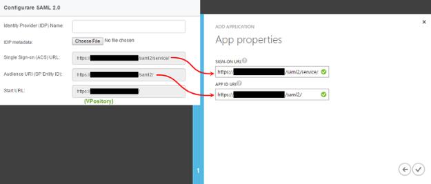 Filling in App properties