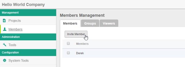 Invite member