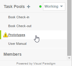 Open a Task Pool